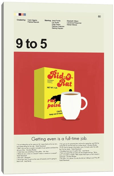 9 To 5 Canvas Art Print