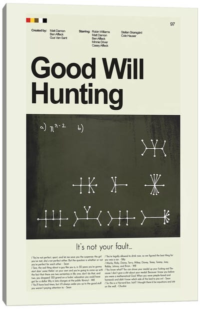 Good Will Hunting Canvas Art Print