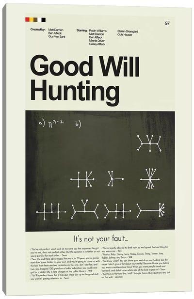 Good Will Hunting Canvas Art Print