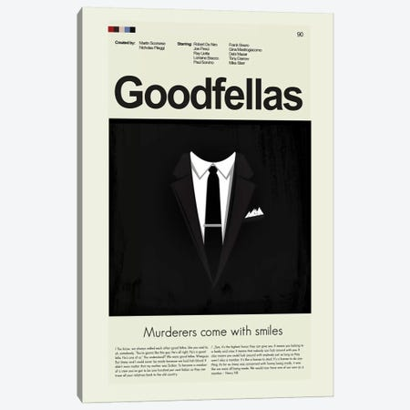Goodfellas Canvas Print #PAG41} by Prints and Giggles by Erin Hagerman Art Print