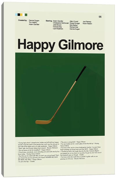 Happy Gilmore Canvas Art Print