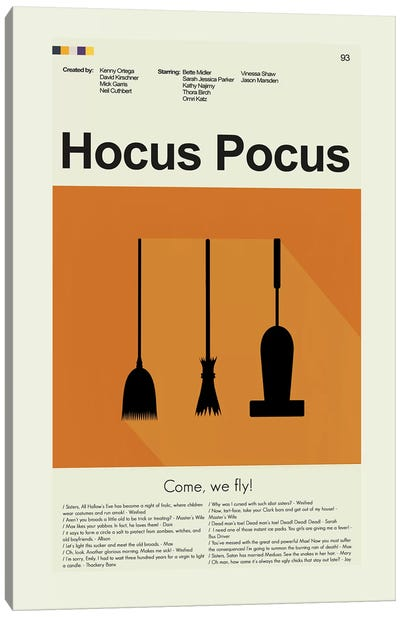 Hocus Pocus Canvas Art Print