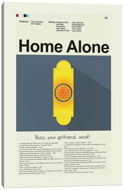 Home Alone Canvas Art Print