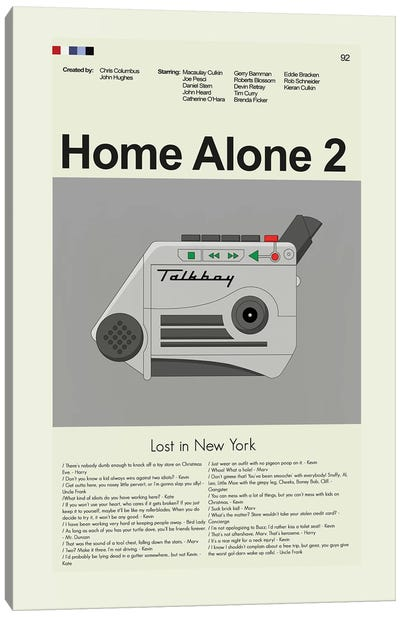 Home Alone 2: Lost In New York Canvas Art Print