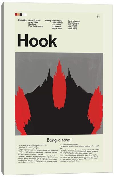 Hook Canvas Art Print