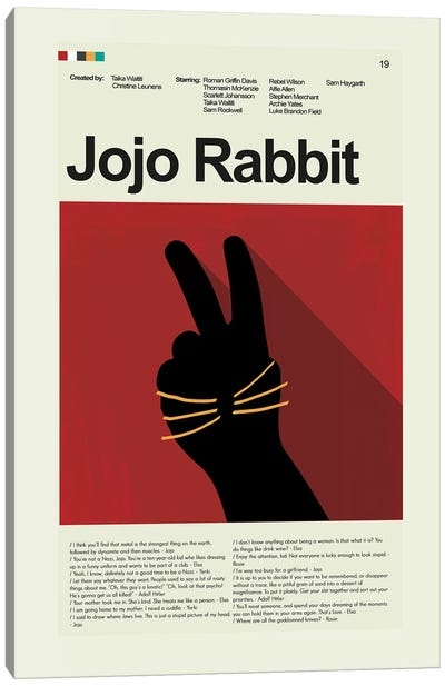 Jojo Rabbit Canvas Art Print