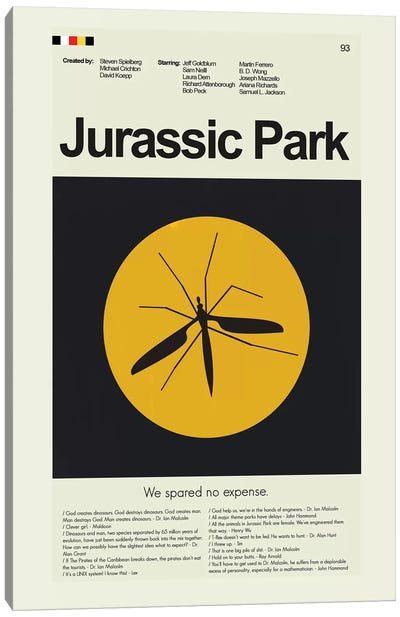 Jurassic Park Canvas Art Print