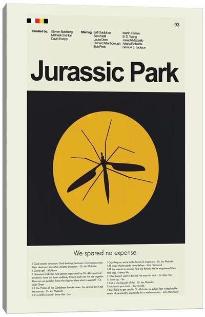 Jurassic Park Canvas Art Print