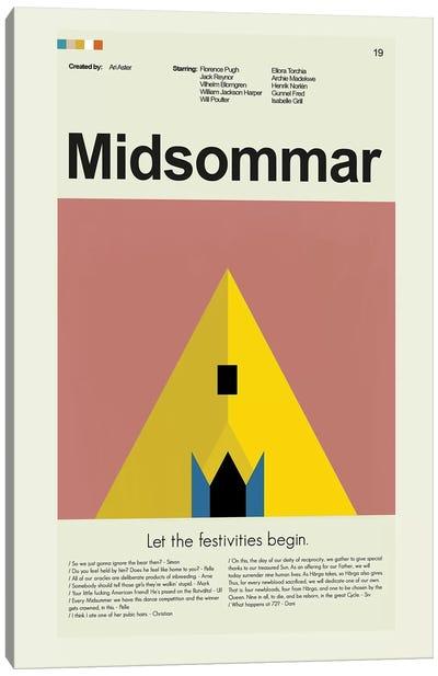 Midsommar Canvas Art Print