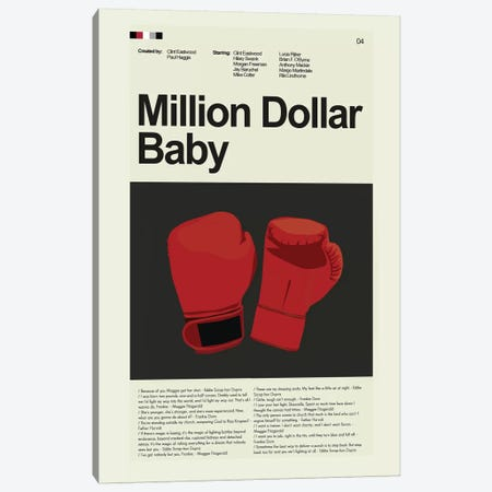 Million Dollar Baby Canvas Print #PAG59} by Prints and Giggles by Erin Hagerman Canvas Art