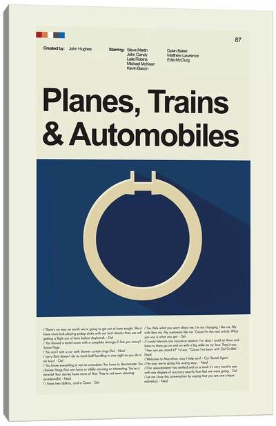 Planes Trains And Automobiles Canvas Art Print