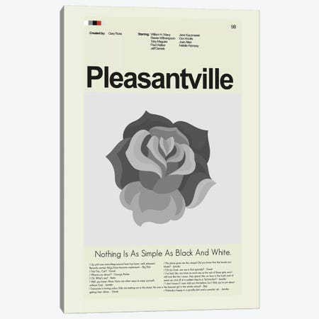 Pleasantville Canvas Print #PAG69} by Prints and Giggles by Erin Hagerman Art Print