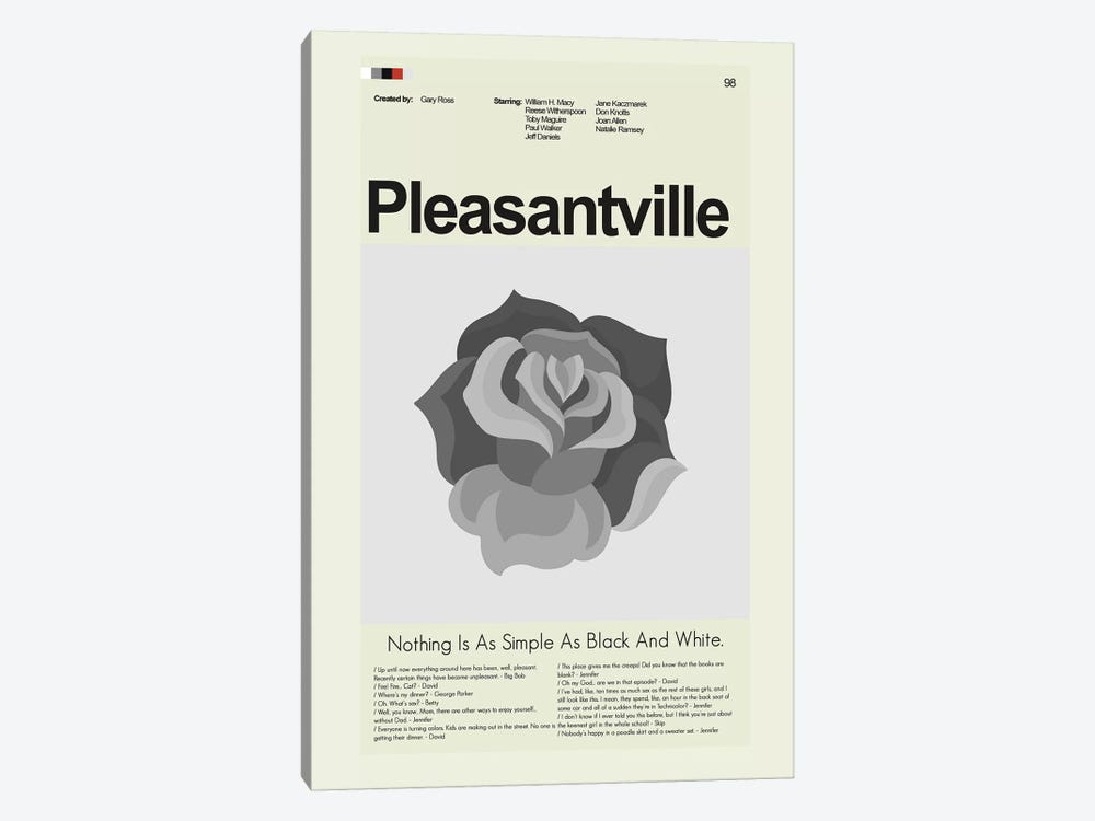 Pleasantville by Prints and Giggles by Erin Hagerman 1-piece Canvas Art