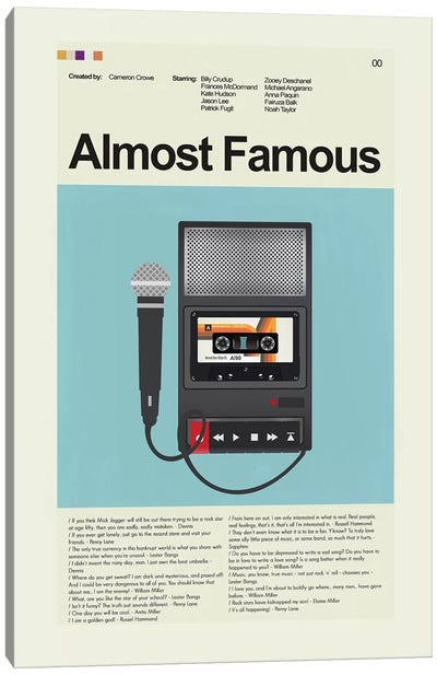 Almost Famous Canvas Art Print