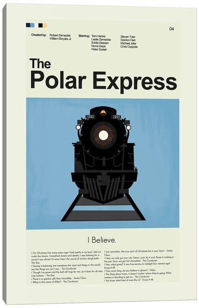 Polar Express Canvas Art Print
