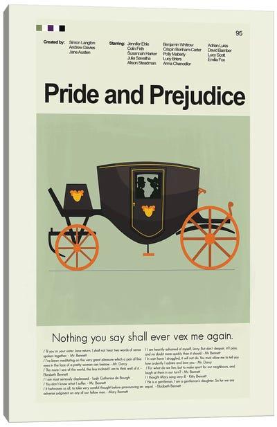 Pride And Prejudice BBC '95 Canvas Art Print