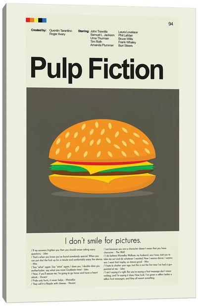 Pulp Fiction Canvas Art Print
