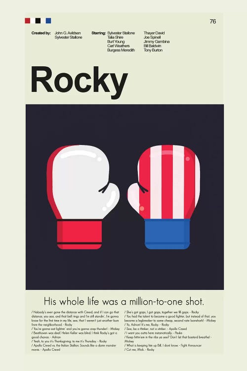Rocky Canvas Art Print By Prints And Giggles By Erin Hagerman Icanvas