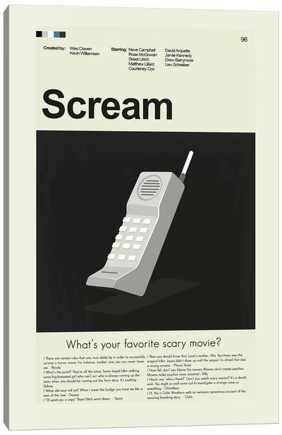 Scream Canvas Art Print