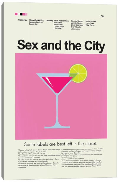 Sex And The City Canvas Art Print