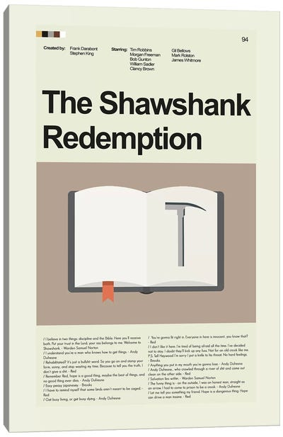 Shawshank Redemption Canvas Art Print