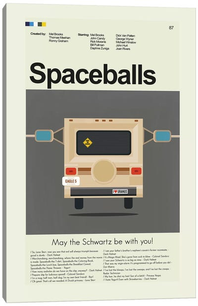 Spaceballs Canvas Art Print