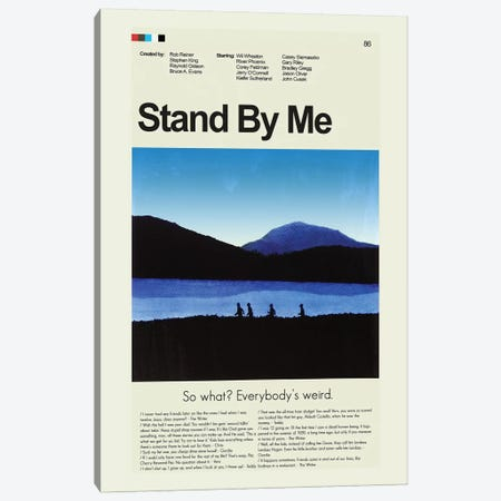 Stand By Me Canvas Print #PAG87} by Prints and Giggles by Erin Hagerman Canvas Artwork