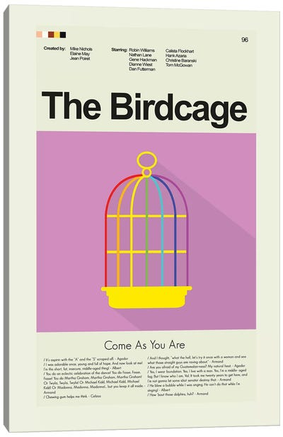 The Birdcage Canvas Art Print