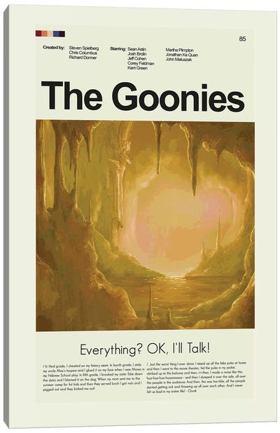 The Goonies Canvas Art Print
