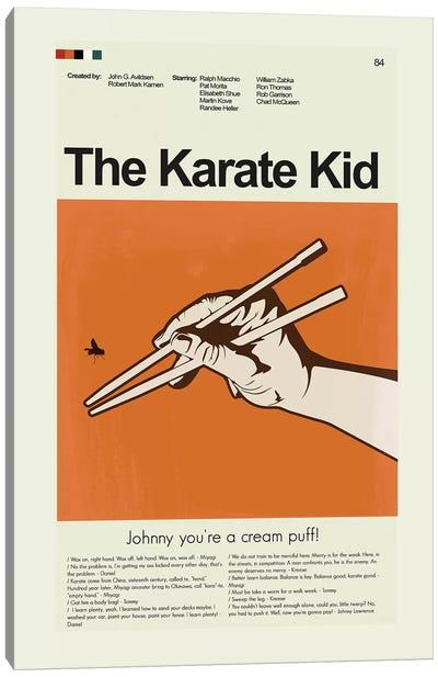 The Karate Kid Canvas Art Print