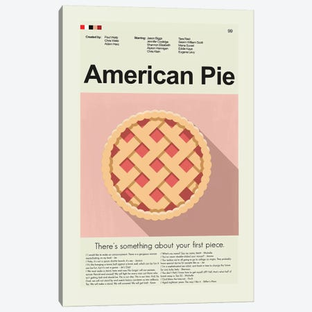 American Pie Canvas Print #PAG9} by Prints and Giggles by Erin Hagerman Canvas Artwork