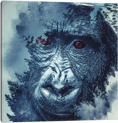 Gorilla Canvas Art Print