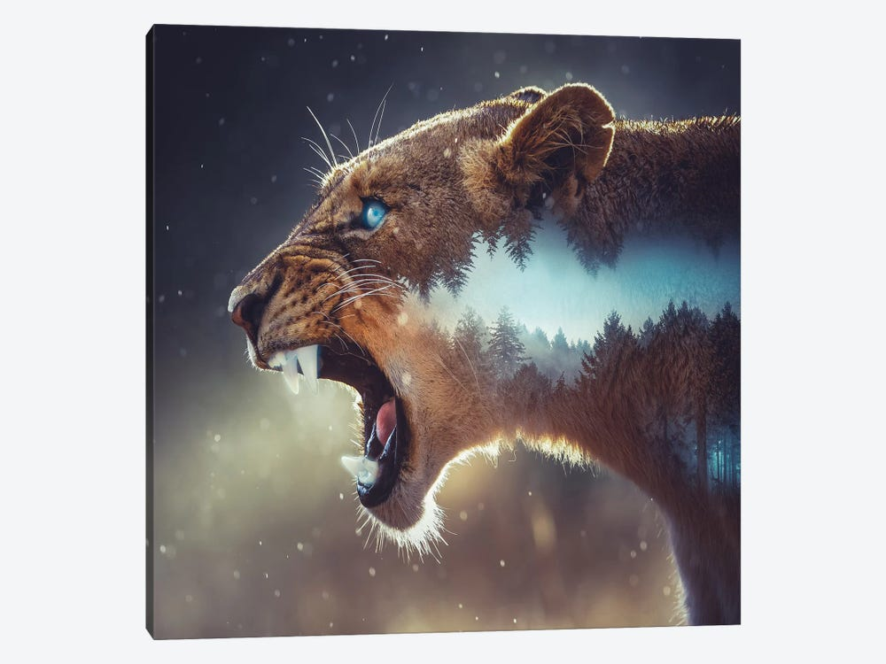 Predator by Paul Haag 1-piece Canvas Print