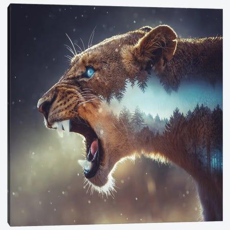 Predator Canvas Print #PAH22} by Paul Haag Canvas Wall Art
