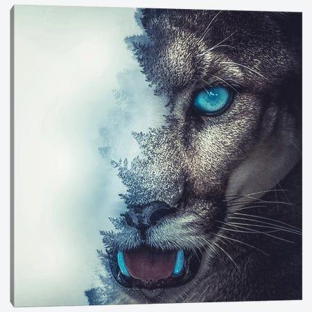Puma Canvas Print #PAH23} by Paul Haag Canvas Art
