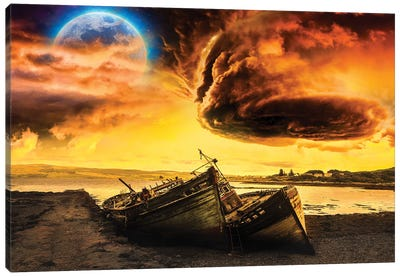 Cloudmania Canvas Art Print
