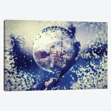 City Globe Canvas Print #PAH4} by Paul Haag Canvas Artwork