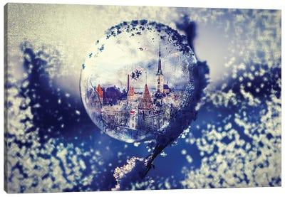 City Globe Canvas Art Print