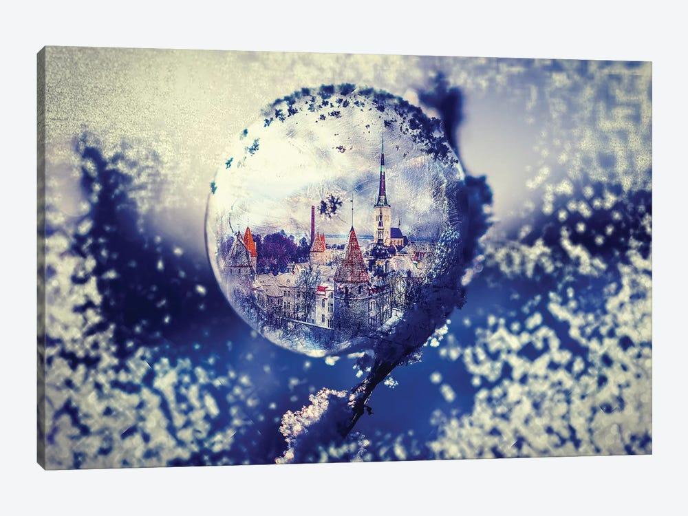 City Globe by Paul Haag 1-piece Canvas Artwork