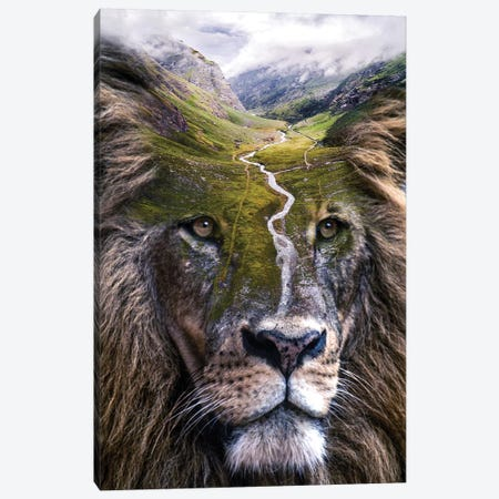 Hail the King Canvas Print #PAH64} by Paul Haag Art Print