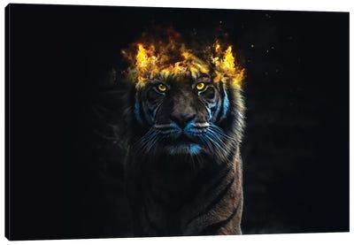 Tiger King Canvas Art Print