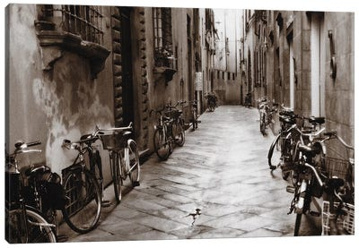 Lucca Bikes Canvas Art Print