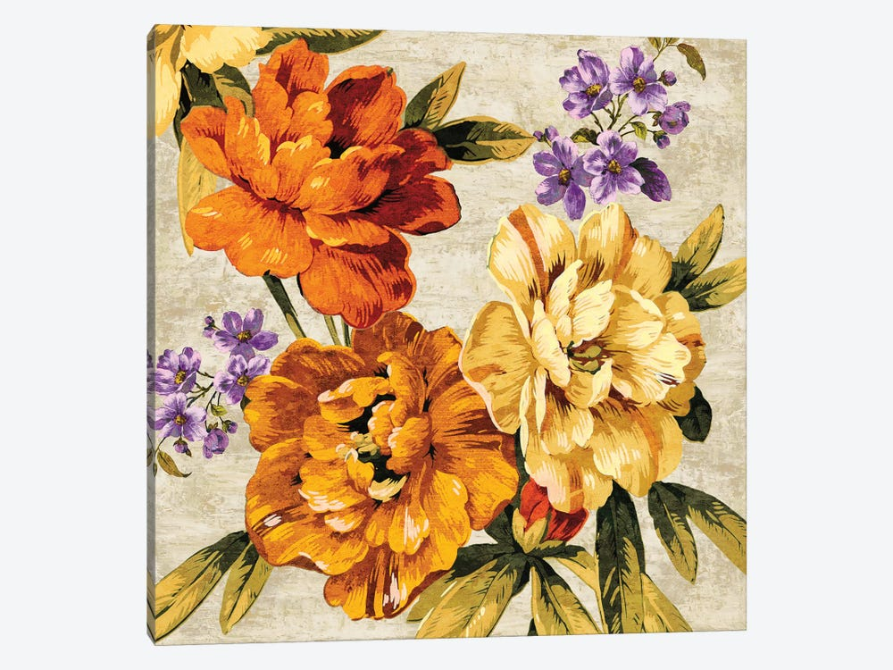 Brilliant Bloom I by Pamela Davis 1-piece Canvas Art