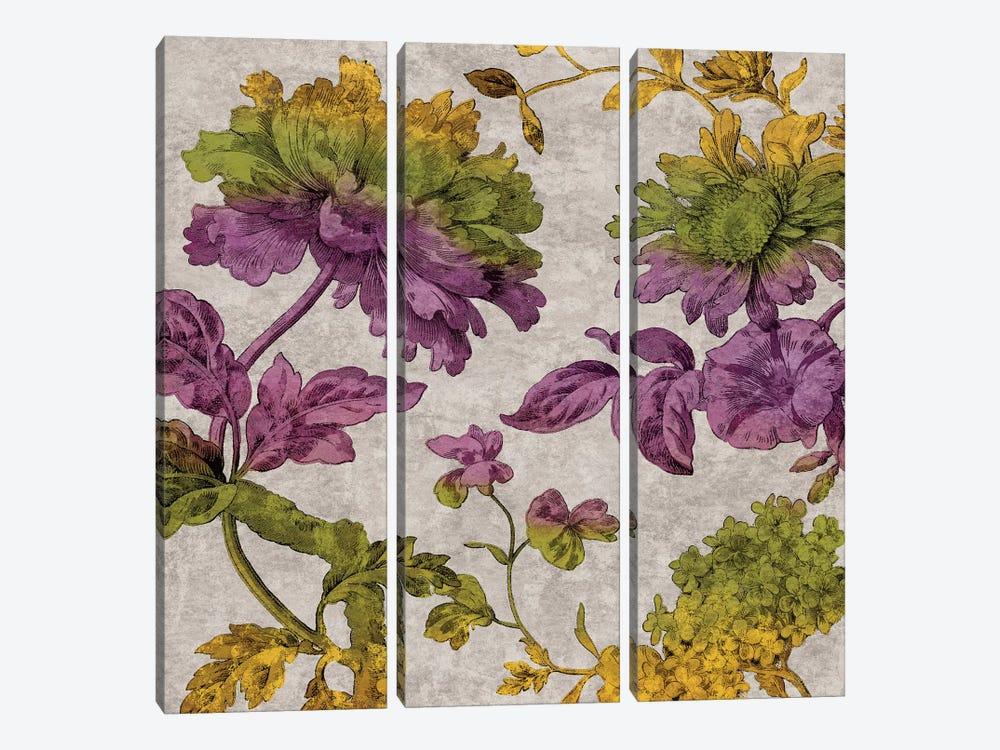 Full Bloom II by Pamela Davis 3-piece Canvas Art