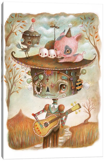 Glauco Canvas Art Print