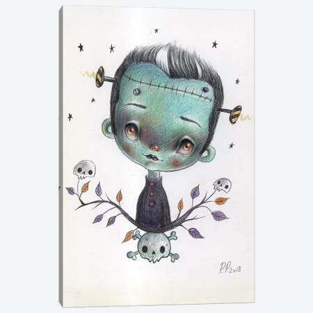 Little Frankie Canvas Print #PAO16} by Paolo Petrangeli Canvas Art Print