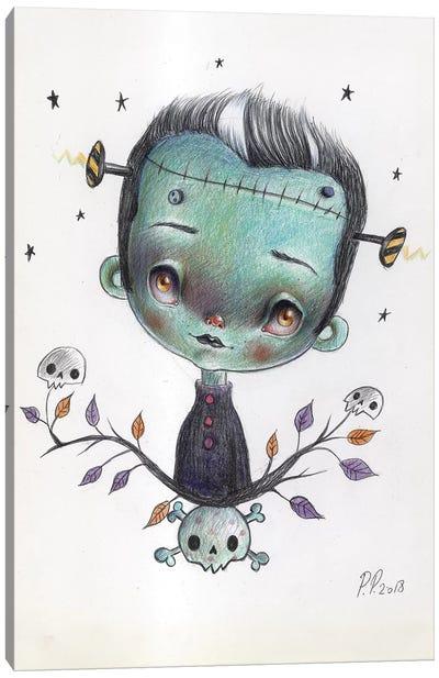 Little Frankie Canvas Art Print