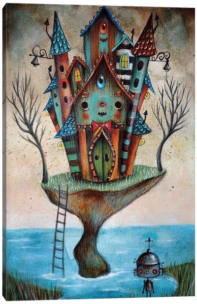 Monster House Canvas Art Print
