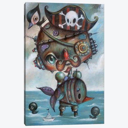 Pirates Canvas Print #PAO24} by Paolo Petrangeli Canvas Artwork