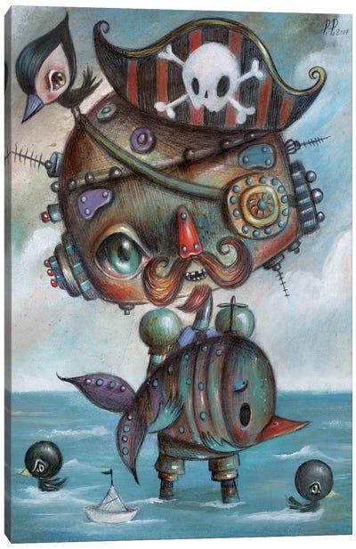 Pirates Canvas Art Print